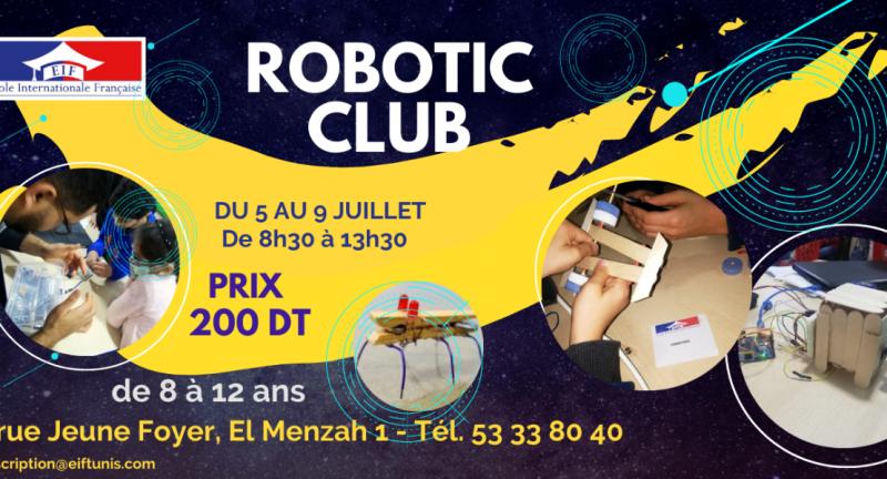 Club robotique à l'EIF